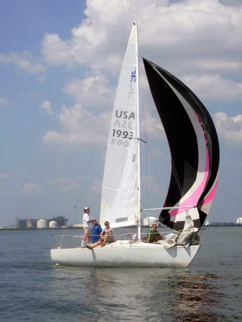 J24, 1980 sailboat