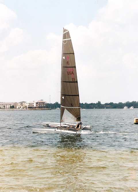 Javelin F18HT Beach Cat, 2002 sailboat