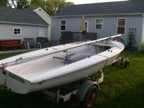 Johnson Club, 420 sailboat
