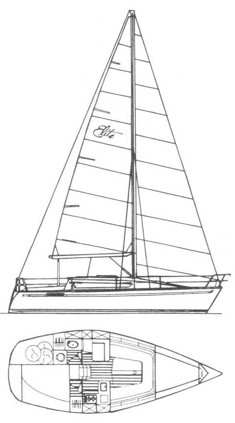 Kirie Elite 29 sailboat