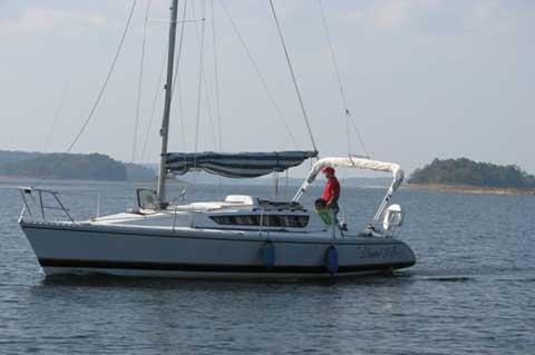 Elite, 30', 1984 sailboat