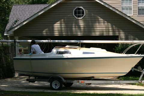 Laguna 18 sailboat