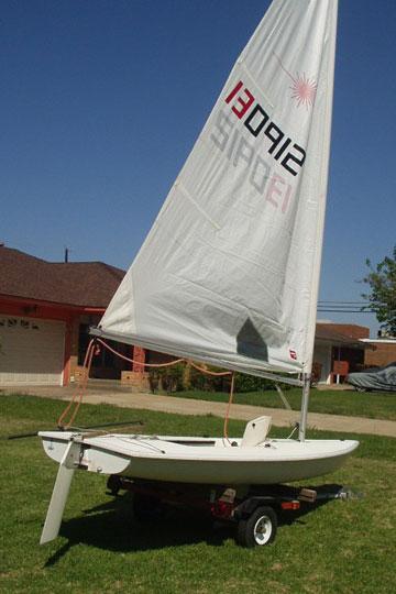 laser sailboat hull - photo #23