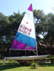 1980 Laser sailboats