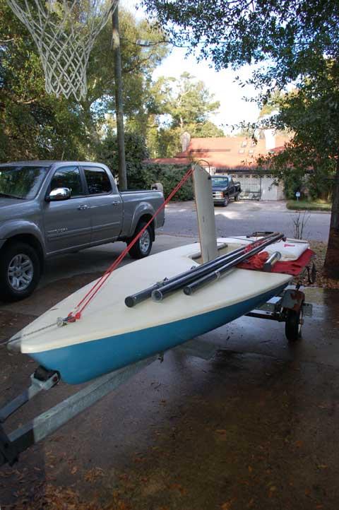 Laser sailboat for sale