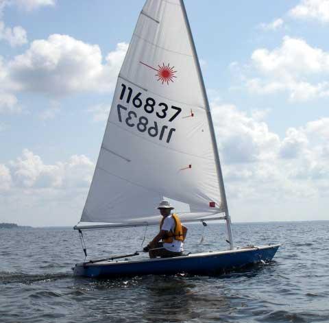 laser sailboat hull - photo #30