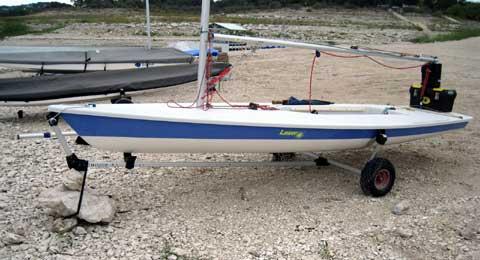 Laser Pro sailboat