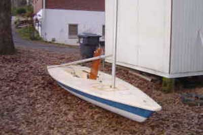 Laser Pre-1973 sailboat