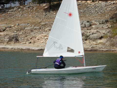 Laser Pro, 4.7, 2008 sailboat