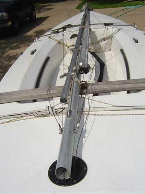Laser II sailboat