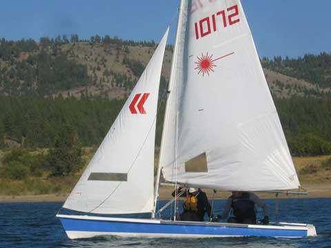 Laser II sailboats