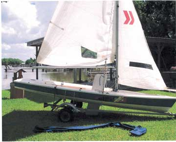 1995 Laser II sailboat