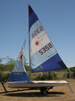 1991 Laser II sailboat