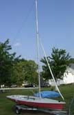 1972 Laser II sailboat