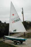 1982 Laser sailboats