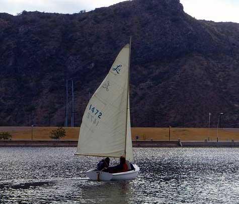Lido 14 sailboat