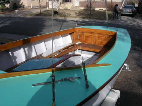 Lightning sailboat