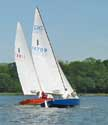1966 Lightning sailboat