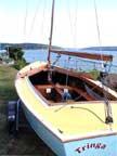 1960 Lightning sailboat