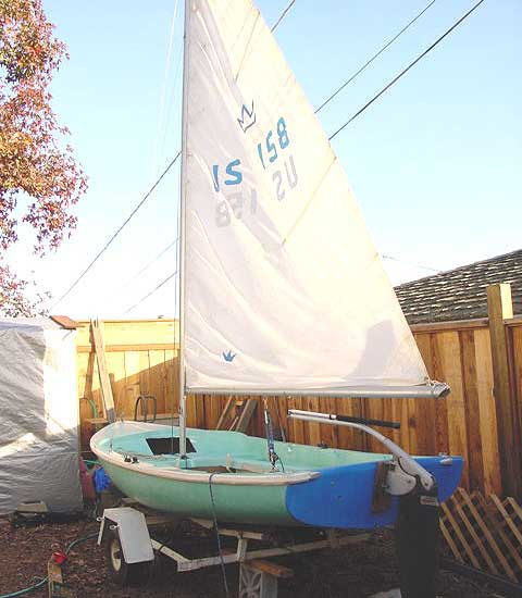 Chrysler Lone Star, 13ft., 1968 sailboat