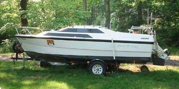 Macgregor sailboat - YouTube