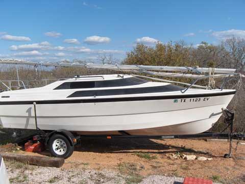 1994 Macgregor Powersailor 19 sailboat for sale in Texas
