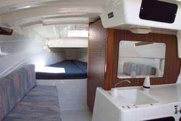Macgregor 26S cabin