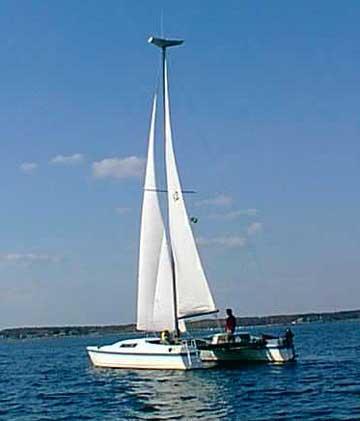 1977 Macgregor 36 sailboat
