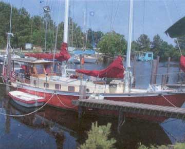 1994 54'Custom Malabar II Schooner sailboat