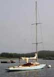 1924 Marblehead E class one design sailboat