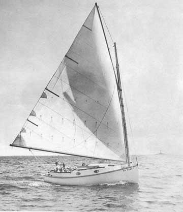 1986 Marshall 22 Catboat sailboat
