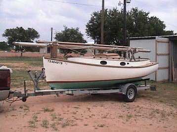 Marshall Sanderling 18 Catboat