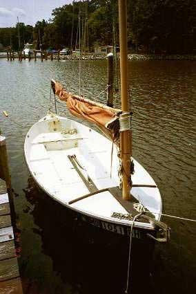 Flat Deck Trailer >> Marsh Hen sailboat for sale