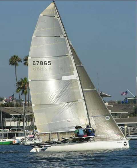 Martin 243 sailboat