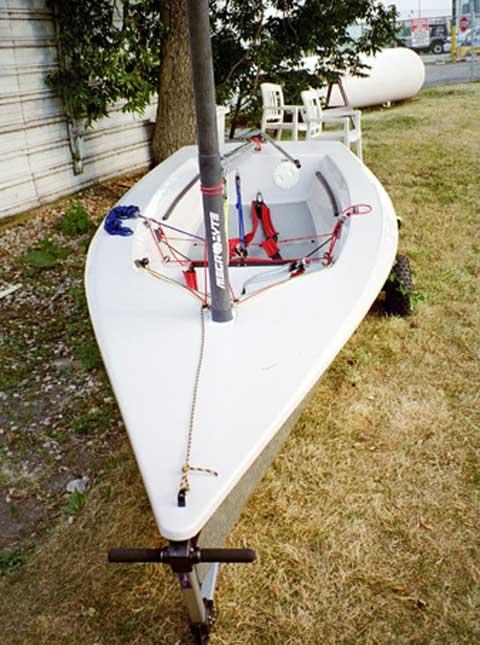 Megabyte 14', PS2000 sailboat