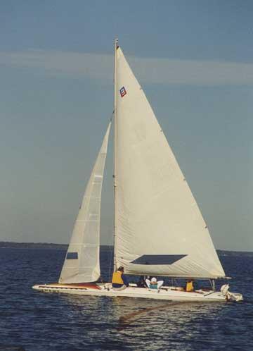 1979 Melges E Scow 28'