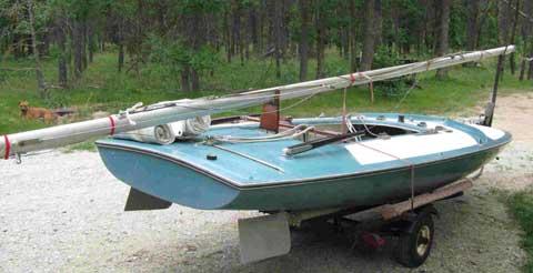 Johnson M16, 1970sailboat