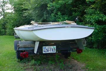 1970 Johnson M16 sailboat