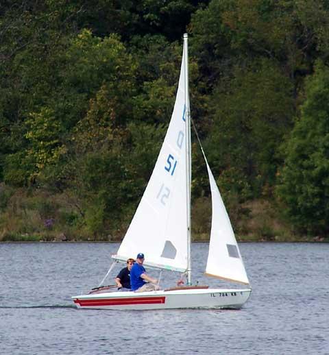 Melges X sailboat