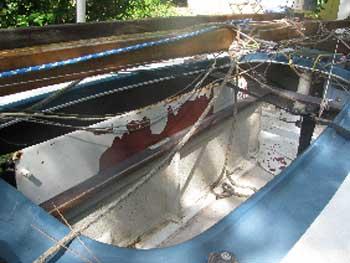 Melges Class X Cub racer, 1970 sailboat