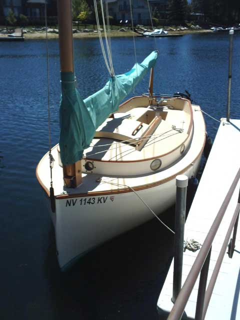 Menger 19 sailboat