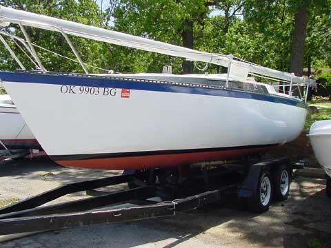Merit 22 sailing boat