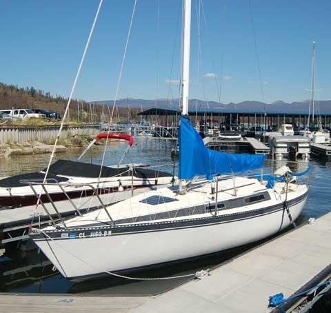 Merit 25 sailboat