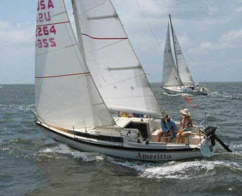 Merit 25, 1981 sailboat
