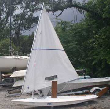 1975 Minifish sailboat