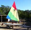 1980 Minifish sailboat
