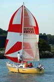 1976 Mirage 24 sailboat