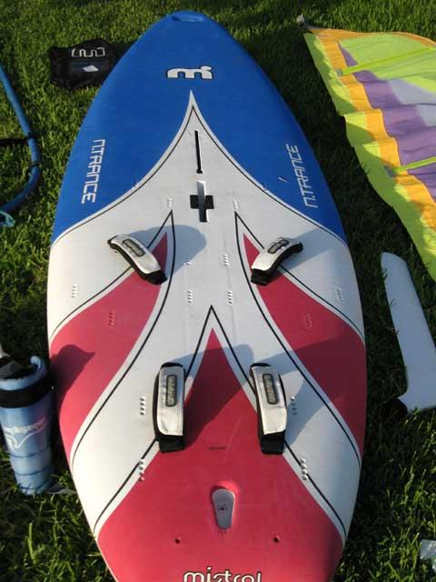 Mistral Ntrance sailboard