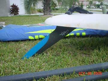1995 Mistral Superlight II sailboard