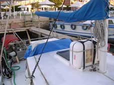 1989 Moeckel 50 ketch sailboat